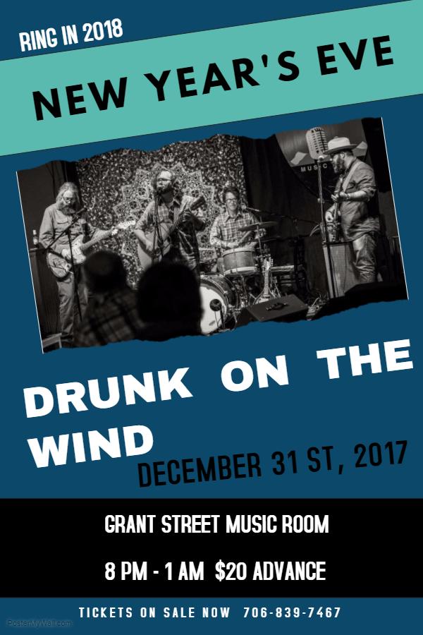 "Drunk On the Wind ""New Year's Eve."" @ Grant Street Music Room | Clarkesville | Georgia | United States"